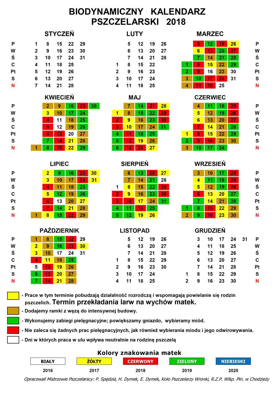 Kalendarz biodynamiczny 2017