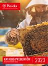 Okładka aktualnego katalogu Pasieki